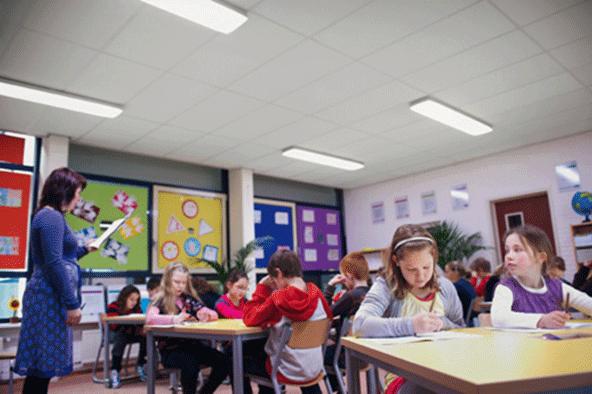 светодиодные светильники для школы