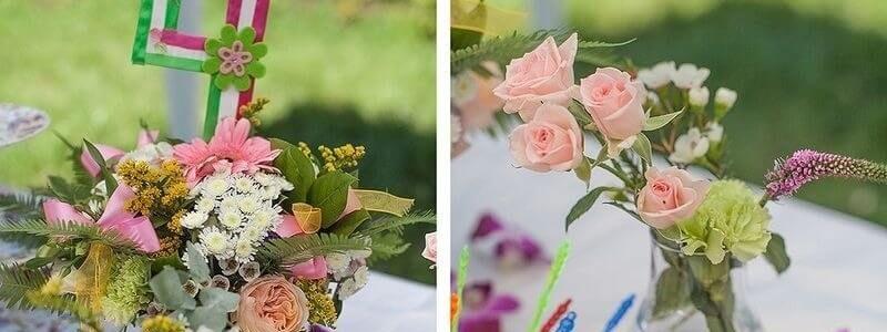 оформление детских праздников цветами4