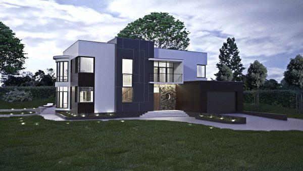 проект загородного дома2