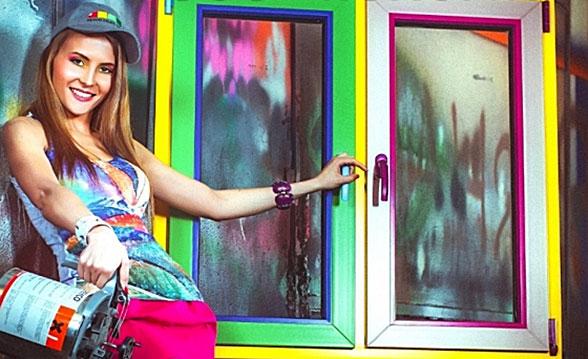 покрасить окна из ПВХ2