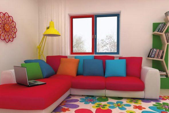 покрасить окна из ПВХ1