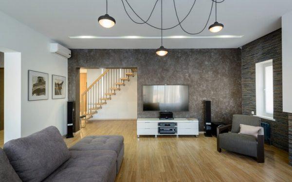 Подвесные потолочные люстры для гостиной 2
