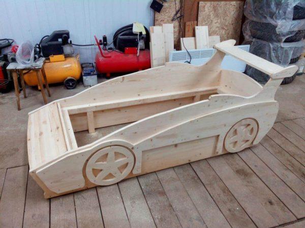 кровать-автомобиль 4