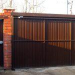 Подвесные ворота 3