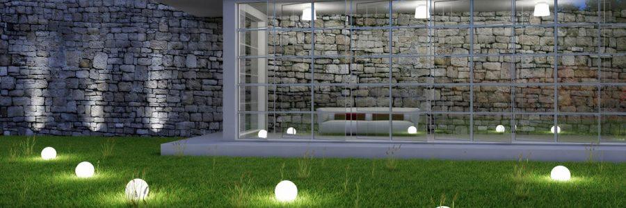 Светодиодные светильники в ландшафтном дизайне 3