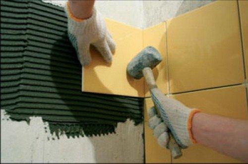 поверхность для укладки плитки