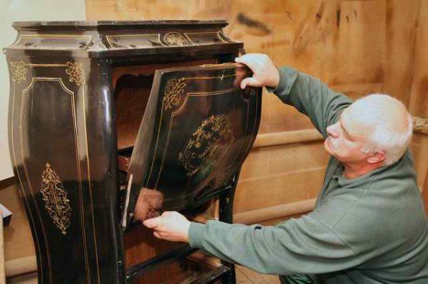 Реставрация антикварной мебели 3