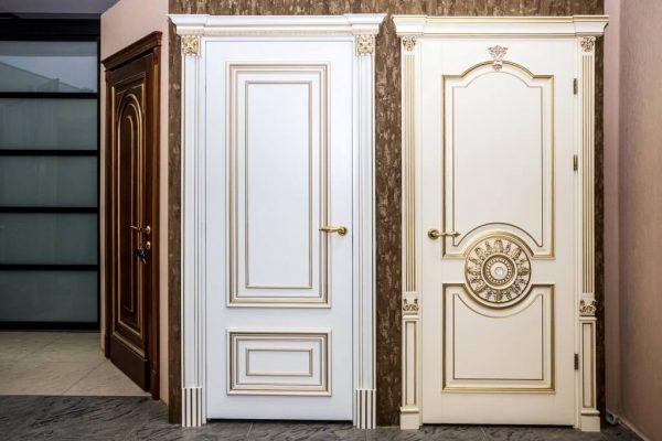 межкомнатные двери в классическом интерьере 2
