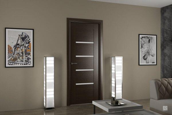 межкомнатные двери в стиле модерн