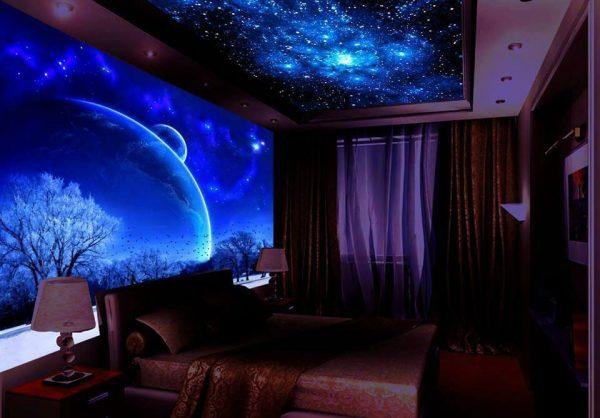 Потолок звездное небо 2018