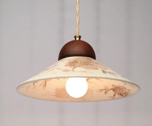 Керамика и фарфор светильник в интерьере