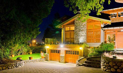 Светодиодные светильники в освещении загородного дома