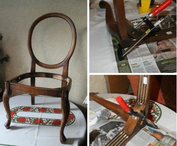 Восстановление венского стула 2