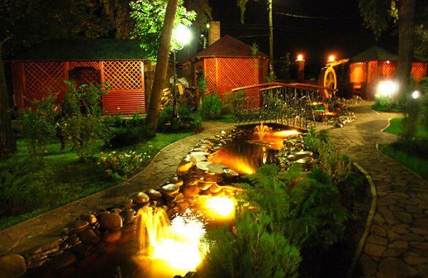 Светодиодные светильники в освещении загородного дома 3