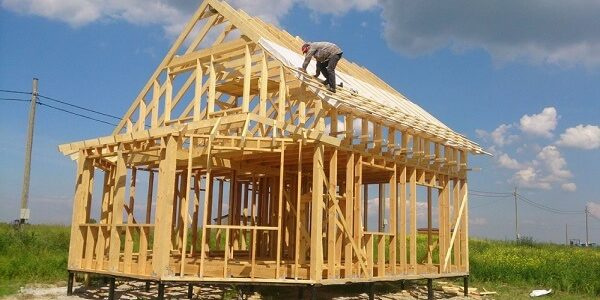 строительство каркасного дома 2019