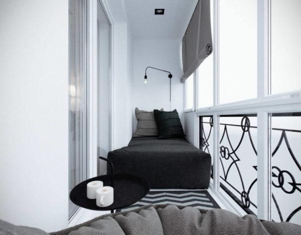 небольшой балкон дизайн