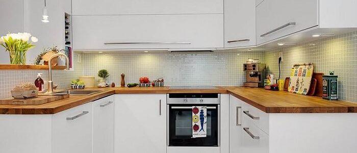 кухня в форме П