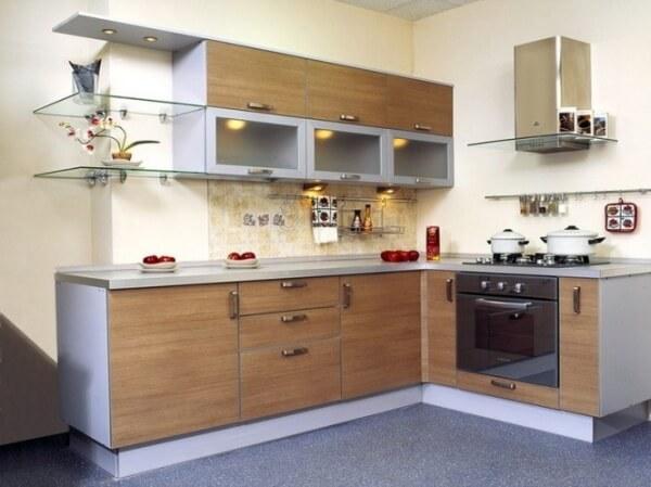 кухонные фасады из ламинированных ДСП