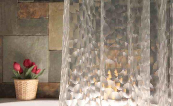 Виниловые шторы для ванной комнаты