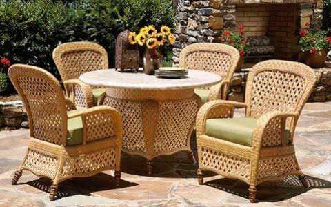 плетеная мебель из ротанга 2