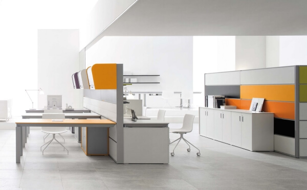 стиль модерн при оформлении офиса 01