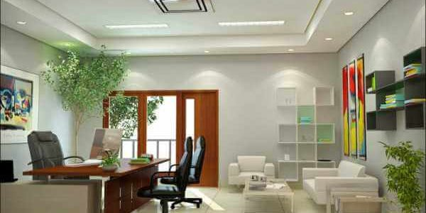 стиль модерн при оформлении офиса