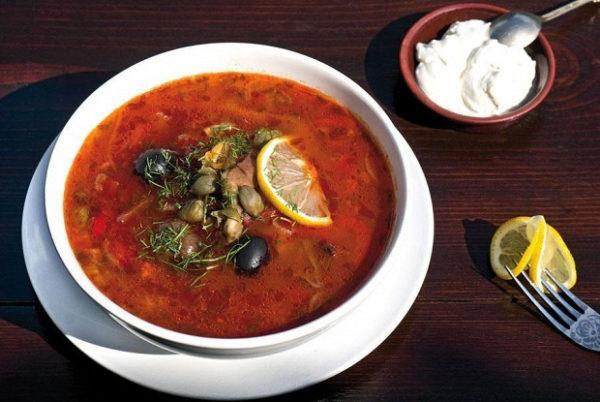 суп солянка 2
