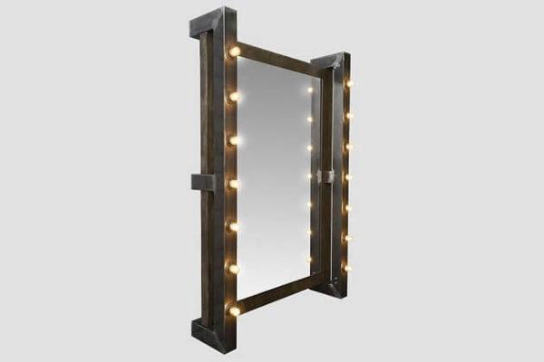 Зеркало в стиле лофт 2