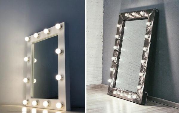 Зеркало в стиле лофт 3