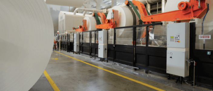Производство бумаги-основы для туалетной бумаги