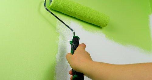 Покраска гипсокартона водоэмульсионной краской