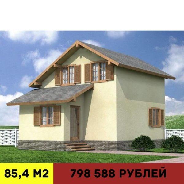 дома из сип-панелей в Калининграде