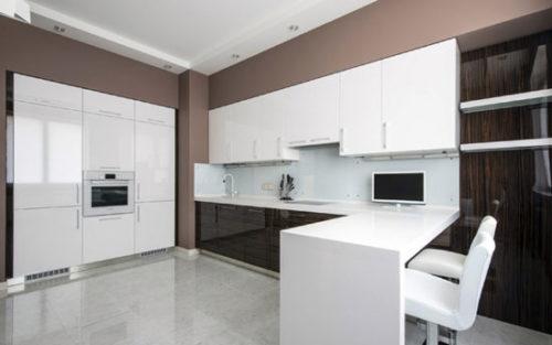 кухня минимализм 2021