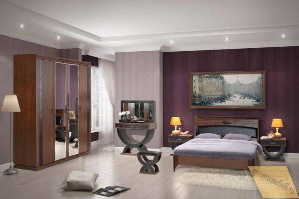 кровать в спальню по индивидуальному проекту 2021